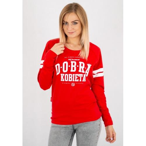 Bluza Damska CS Dobra Kobieta - Red - CIEMNA STREFA - RPK