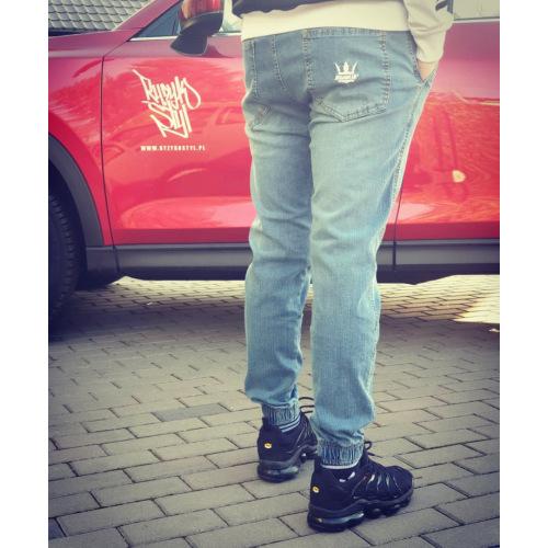 Spodnie Jogger Jigga Wear - Jeans - JIGGA WEAR