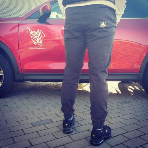 Spodnie Jogger Jigga Wear - Grafit - JIGGA WEAR