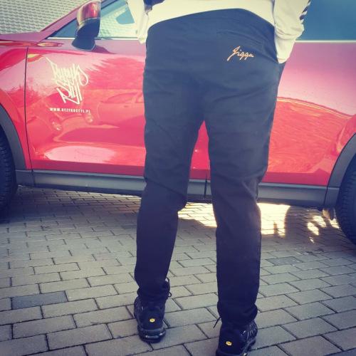 Spodnie Jogger Jigga Wear - Logo - JIGGA WEAR