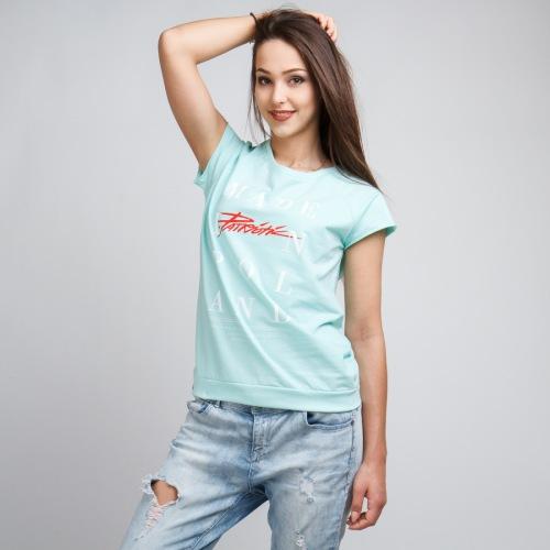 Koszulka Damska Patriotic - Made - PATRIOTIC