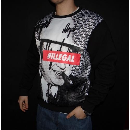 Bluza Illegal Wear - Al Capone - ILLEGAL STREET BRAND