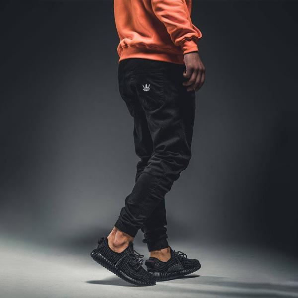 Spodnie Jogger Jigga Wear - Czarny