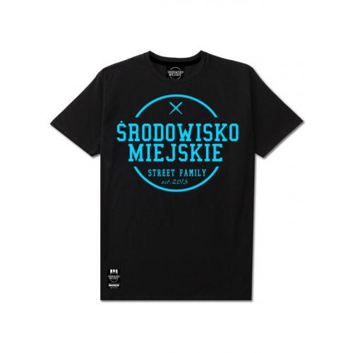 Koszulka Środowisko Miejskie - Turkus - ŚRODOWISKO MIEJSKIE