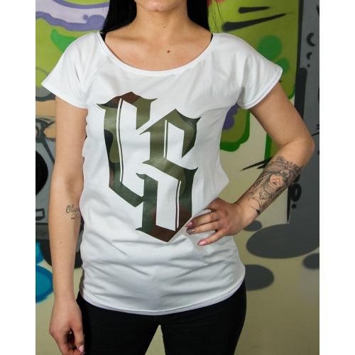 Koszulka Damska CS Wear - Camo - CIEMNA STREFA - RPK
