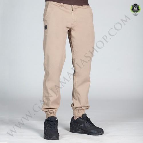 Spodnie Jogger GM Wear - Camel - GANJA MAFIA