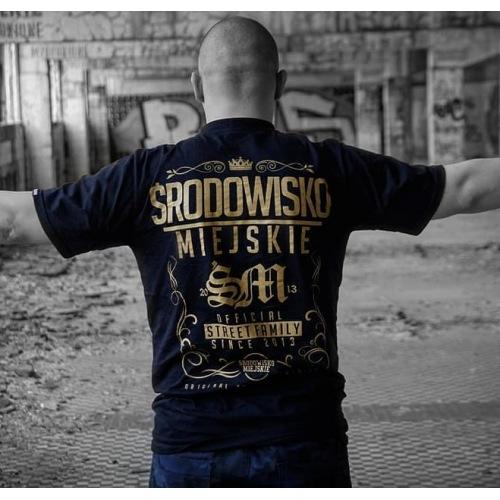 Koszulka Środowisko Miejskie - Gold - ŚRODOWISKO MIEJSKIE