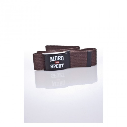 PASEK MORO SPORT / BROWN - MORO SPORT